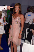 Tara Palmer-Tompkinson, Glamour Magazine's Women of the Year Awards, Berkeley Sq. 8 June 2004. ONE TIME USE ONLY - DO NOT ARCHIVE  © Copyright Photograph by Dafydd Jones 66 Stockwell Park Rd. London SW9 0DA Tel 020 7733 0108 www.dafjones.com