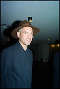OLIVER CHANARIN, Frieze party, ACE hotel Shoreditch. London. 18 October 2014