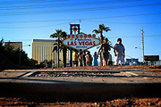 Las Vegas is a palyground for adults. For an unfortunate few, the city is anything but fun. They live in the storm drains underneath the sprawling casinos.