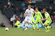 Milton Keynes Dons defender Dean Lewington (3) during the Sky Bet Championship match between Milton Keynes Dons and Brighton and Hove Albion at stadium:mk, Milton Keynes, England on 19 March 2016.