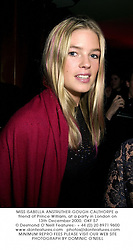 MISS ISABELLA ANSTRUTHER-GOUGH-CALTHORPE a friend of Prince William, at a party in London on 13th December 2000.	OKF 57
