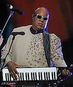 28.SEPTEMBER.2013. NEW YORK<br /> <br /> STEVIE WONDER PERFORMS ON STAGE AT THE 2013 GLOBAL CITIZEN FESTIVAL IN CENTRAL PARK TO END POVERTY IN NEW YORK, USA.<br />  <br /> BYLINE: EDBIMAGEARCHIVE.CO.UK<br /> <br /> *THIS IMAGE IS STRICTLY FOR UK NEWSPAPERS AND MAGAZINES ONLY*<br /> *FOR WORLD WIDE SALES AND WEB USE PLEASE CONTACT EDBIMAGEARCHIVE - 0208 954 5968*