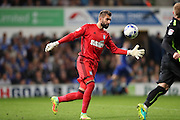 Ipswich Town goalkeeper Bartosz Bialkowski (33) during the EFL Sky Bet Championship match between Ipswich Town and Brighton and Hove Albion at Portman Road, Ipswich, England on 27 September 2016.