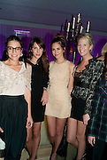 MARGHERITA MISSONI; CAROLINE SIEBER; DASHA ZHUKOVA; SOPHIA HESKETH; , An evening at Sanderson to celebrate 10 years of Sanderson, in aid of Clic Sargent. Sanderson Hotel. 50 Berners St. London. W1. 27 April 2010 *** Local Caption *** -DO NOT ARCHIVE-© Copyright Photograph by Dafydd Jones. 248 Clapham Rd. London SW9 0PZ. Tel 0207 820 0771. www.dafjones.com.<br /> MARGHERITA MISSONI; CAROLINE SIEBER; DASHA ZHUKOVA; SOPHIA HESKETH; , An evening at Sanderson to celebrate 10 years of Sanderson, in aid of Clic Sargent. Sanderson Hotel. 50 Berners St. London. W1. 27 April 2010