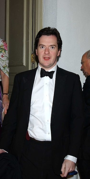 GEORGE OSBORNE MP at a dinner attended by the Conservative leader Michael Howard and David Davis and David Cameron held at the Banqueting Hall, Whitehall, London on 29th November 2005.<br />