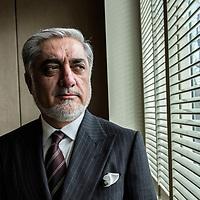 Abdullah Abdullah, chef du gouvernement afghan