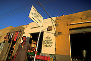 The cheap shop in town. Bahariya Oasis, Egypt.