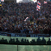 And the fans are not exactly on the side of Team USA. America has dominated this event since first participating in 1981, but that doesn't mean the Europeans like being beaten. While British riders struggled to be near the front of the race, the fans supported any rider that was ahead of an American.