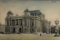 Kazalište : Zagreb . <br /> <br /> ImpresumDresden : Stengel & Co., 1901.<br /> Materijalni opis1 razglednica : tisak ; 8,9 x 13,7 cm.<br /> NakladnikStengel & Co.<br /> Mjesto izdavanjaDresden (Njemačka)<br /> Vrstavizualna građa • razglednice<br /> ZbirkaZbirka razglednica • Grafička zbirka NSK<br /> Formatimage/jpeg<br /> SignaturaRZG-TMT-31<br /> Obuhvat(vremenski)20. stoljeće<br /> NapomenaRazglednica je putovala.<br /> PravaJavno dobro<br /> Identifikatori000926046<br /> NBN.HRNBN: urn:nbn:hr:238:189926 <br /> <br /> Izvor: Digitalne zbirke Nacionalne i sveučilišne knjižnice u Zagrebu