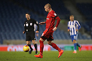 Leyton Orient defender Alan Dunne (5) during the EFL Trophy Southern Group G match between U23 Brighton and Hove Albion and Leyton Orient at the American Express Community Stadium, Brighton and Hove, England on 8 November 2016.
