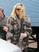 10.APRIL.2013. LONDON<br /> <br /> SARAH HARDING ARRIVING AT THE RIVERSIDE STUDIOS IN HAMERSMITH, LONDON TO FILM CELEBRITY JUICE.<br /> <br /> BYLINE: EDBIMAGEARCHIVE.CO.UK<br /> <br /> *THIS IMAGE IS STRICTLY FOR UK NEWSPAPERS AND MAGAZINES ONLY*<br /> *FOR WORLD WIDE SALES AND WEB USE PLEASE CONTACT EDBIMAGEARCHIVE - 0208 954 5968*