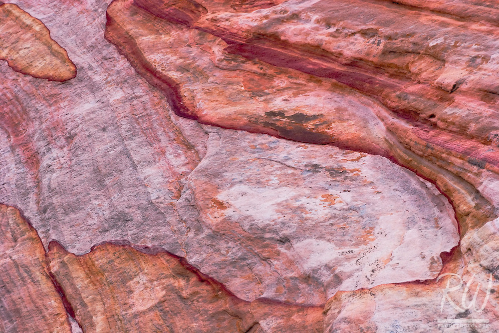 Sandstone Patterns, Valley of Fire State Park, Nevada