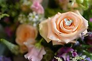 wedding bouquet by Tallmadge wedding photographer, Akron wedding photographer Mara Robinson Photography