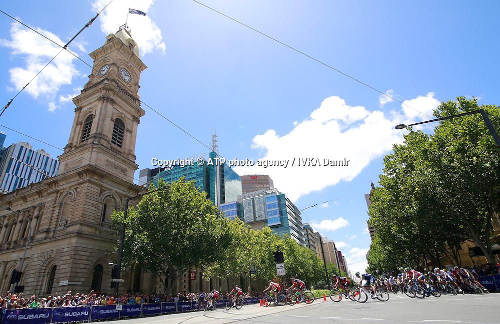 2015 Santos Tour Down Under. Adelaide. Australia.Sunday 25.1.2015. <br /> Stage 6. Adelaide Street Circuit.90km<br /> &copy; ATP / Damir IVKA<br />  - Tour Down Under Australia 2015, Cycling, road race, Radrennen, Australien -  Radsport - Rad Rennen -<br /> - fee liable image: copyright &copy; ATP - IVKA Damir