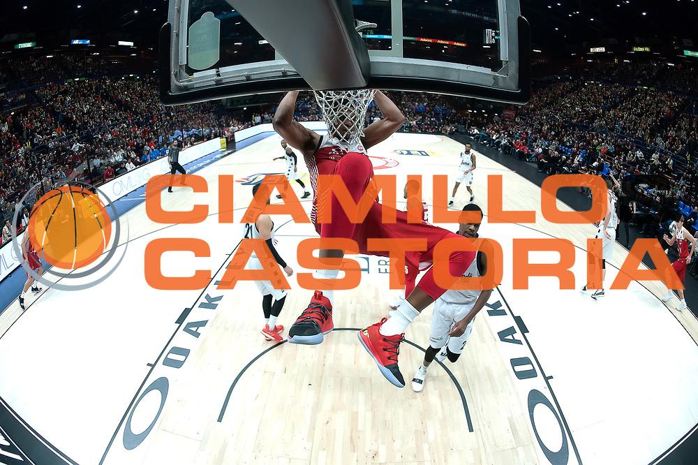Brooks Jeff<br /> A|X Armani Exchange Milano - Segafredo Virtus Bologna<br /> Lega Basket Serie A<br /> Milano 27/01/2019<br /> Foto : Ivan Mancini / Ciamillo