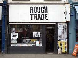 UK ENGLAND LONDON 3APR11 - Rough Trade store off Portobello Road, near Notting Hill, west London...jre/Photo by Jiri Rezac..© Jiri Rezac 2011