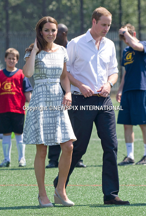 "CATHERINE, DUCHESS OF CAMBRIDGE AND PRINCE WILLIAM.attend the sports-themed event, to launch the Coach Core programme, a partnership between their Foundation and Greenhouse at Bacon's College, South London_26/07/2012.Mandatory credit photo: ©Dias/NEWSPIX INTERNATIONAL..(Failure to credit will incur a surcharge of 100% of reproduction fees)..                **ALL FEES PAYABLE TO: ""NEWSPIX INTERNATIONAL""**..IMMEDIATE CONFIRMATION OF USAGE REQUIRED:.Newspix International, 31 Chinnery Hill, Bishop's Stortford, ENGLAND CM23 3PS.Tel:+441279 324672  ; Fax: +441279656877.Mobile:  07775681153.e-mail: info@newspixinternational.co.uk"