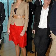 NLD/Amsterdam/20070322 - Lancering Montblanc Diamond Jewellery Collection, Susan Smit en .....