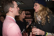 DENNIS SMITH; LAURA PRADELSKA; JODIE KIDD, Hennessy Gold Cup, The Racecourse Newbury. 30 November 2013.