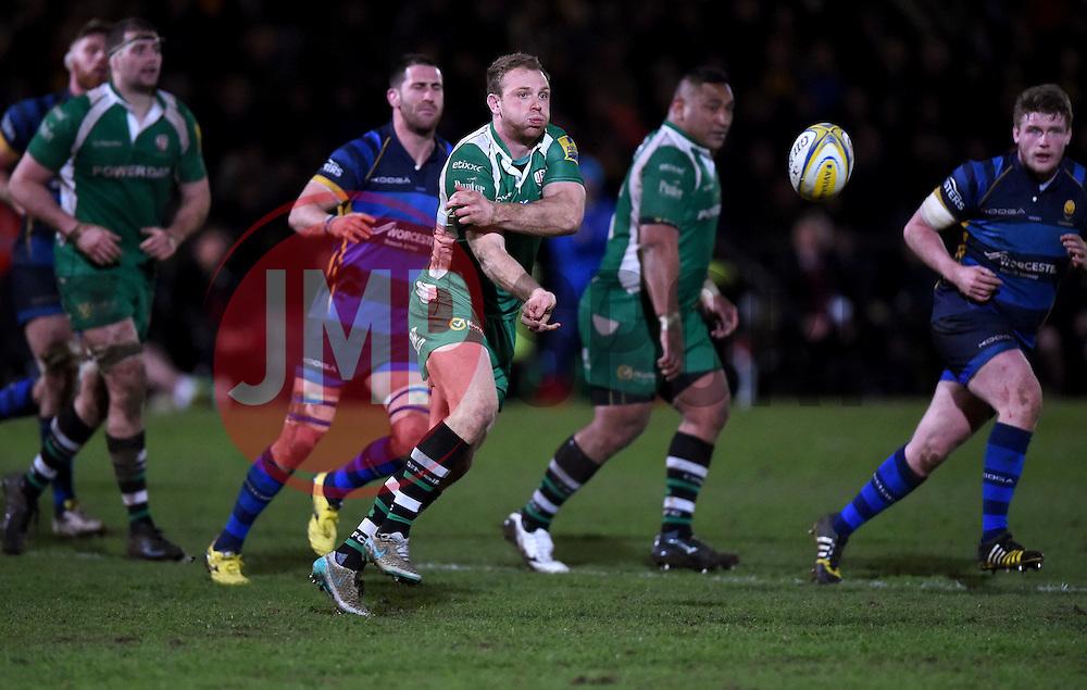 Greig Tonks fly half for London Irish   - Mandatory by-line: Joe Meredith/JMP - 26/03/2016 - RUGBY - Sixways Stadium - Worcester, England - Worcester Warriors v London Irish - Aviva Premiership