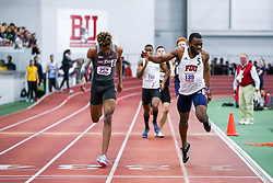 ECAC/IC4A Track and Field Indoor Championships<br /> 400 meters, Maryland-Eastern Sore, Janoi Brown, Fairleigh Dickinson, Yourry Tapande-Ngombe