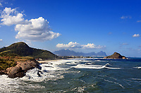 view of prainha beach  in rio de janeiro brazil