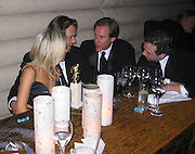 Russell Crowe & Girlfriend.DreamWorks Post Party.Beverly Hilton Trader Vics Restaurant.Los Angeles, Ca.Sunday January 28, 2002.Photo By CelebrityVibe.com..