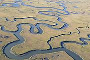Salt marsh; aerial view; NJ