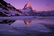 Mount Matterhorn, Swiss Alps, Wallis Canton, Switzerland