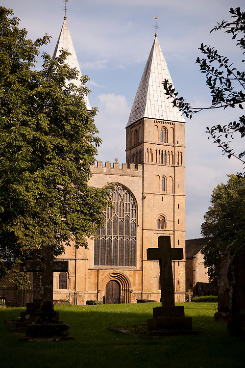 Cathedral in the market town of Southwell, Nottinghamshire