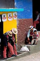 Guatemala, Todos Santos de Cuchumatan. // Guatemala, Todos Santos de Cuchumatan.