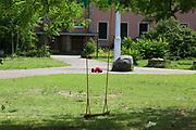 Mannheim. 14.07.17 | Spinelli<br /> Feudenheim. Spinelli. Ehemaliges US Areal wird derzeit als Fl&uuml;chtingsunterkunft verwendet. <br /> 2023 soll hier die Bundesgartenschau BUGA stattfinden.<br /> - Tag der offenen T&uuml;r.<br /> <br /> <br /> BILD- ID 0410 |<br /> Bild: Markus Prosswitz 14JUL17 / masterpress (Bild ist honorarpflichtig - No Model Release!)