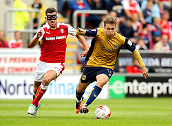 Luke Freeman of Bristol City is chased by Dominic Ball of Rotherham United  - Mandatory by-line: Matt McNulty/JMP - 10/09/2016 - FOOTBALL - Aesseal New York Stadium - Rotherham, England - Rotherham United v Bristol City - Sky Bet Championship