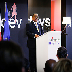 20111216 - Poland - Warsaw  - European Development Days  2011 - Closing Ceremony - Dr Garry Conille , Prime Minister of Haiti © European Union