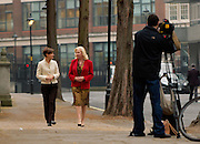 London, United Kingdom - 22 November 2011.Elle Macpherson's former adviser Mary-Ellen Field. Witnesses arrive for hearings for the Leveson Enquiry into allegations of phone hacking by the media. Royal Courts of Justice, Charing Cross, London, England, UK..Copyright: ©2011 Equinox Licensing Ltd. +448700 780000 - Contact: Equinox Features - Date Taken: 20111122 - Time Taken: 132129+0000 - www.newspics.com