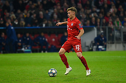 November 6, 2019, Munich, Germany: Joshua Kimmich from Bayern seen in action during the UEFA Champions League group B match between Bayern and Olympiacos at Allianz Arena in Munich. (Credit Image: © Bruno De Carvalho/SOPA Images via ZUMA Wire)