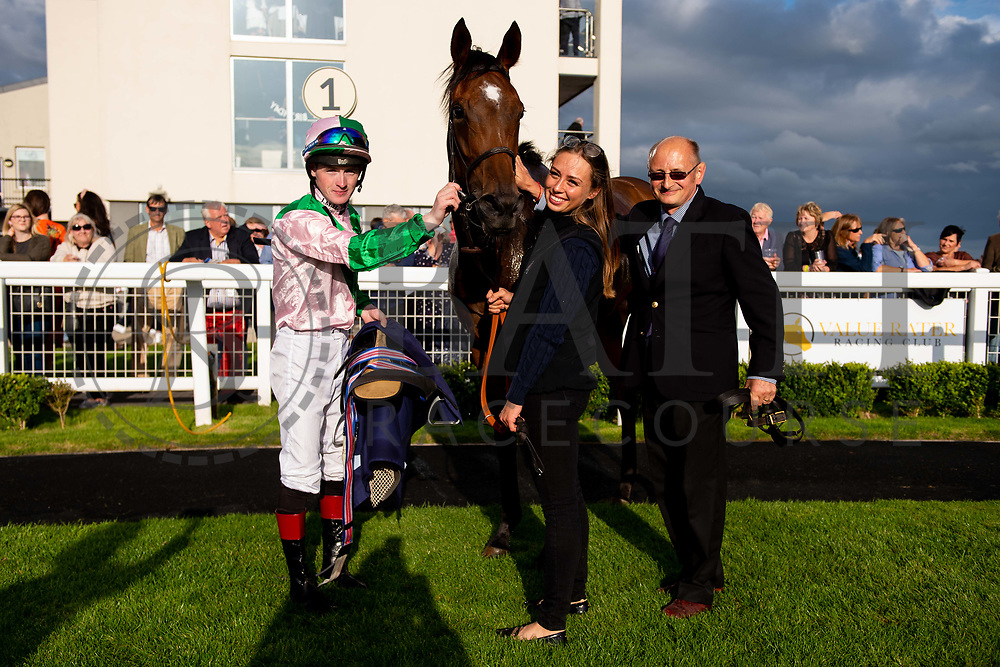 Miss Latin ridden by Dylan Hodge and trained by David Simcock in the Kingstone Press Apple Handicap (Value Rater Racing Club Bath Summer Stayers Series Qualifier)(Class 5) race.  - Ryan Hiscott/JMP - 17/08/2019 - PR - Bath Racecourse - Bath, England - Race Meeting at Bath Racecourse
