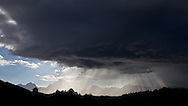 """Light Beams, Thunderstorm, Grand Tetons, Grand Teton National Park, Crepuscular Rays<br /> <br /> For production prints or stock photos click the Purchase Print/License Photo Button in upper Right; for Fine Art """"Custom Prints"""" contact Daryl - 208-709-3250 or dh@greater-yellowstone.com"""