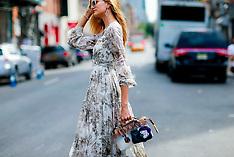 New York - Street Style - 21 Sep 2016