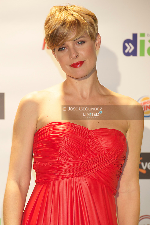 Tania Llasera attends the photocall of Cadena Dial Awards 2011 at Adan Martinez Auditorium in Tenerife, Spain