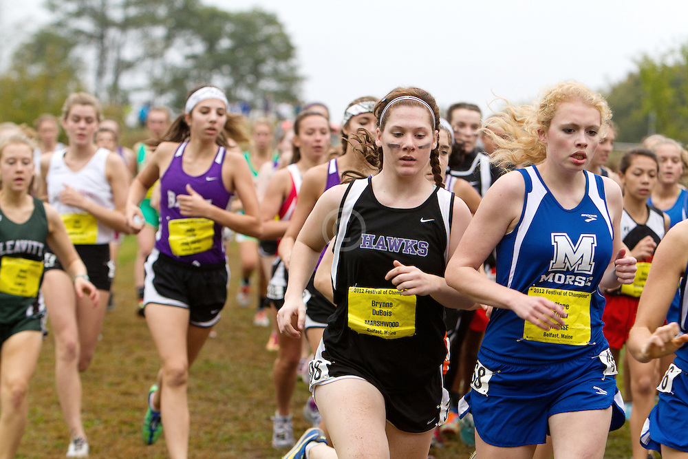 Festival of Champions High School Cross Country meet, Brynne DuBoise, Marshwood