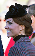 Middleton Family Join Royals At Sandringham