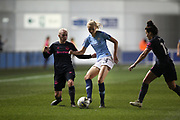 during the FA Women's Super League match between Manchester City Women and Everton Women at the Sport City Academy Stadium, Manchester, United Kingdom on 20 February 2019.