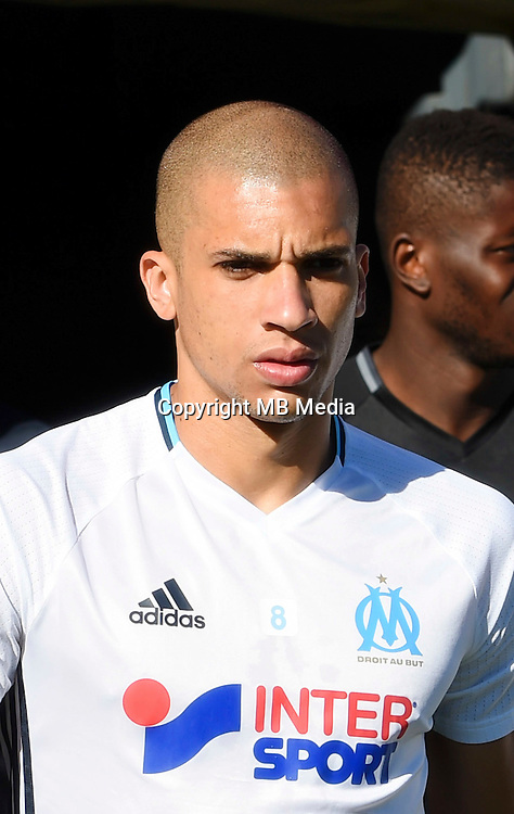 Matheus Doria of Marseille during the pre season friendly match between Nimes and Olympique de Marseille on July 15, 2016 in Nimes, France. (Photo by Alexandre Dimou/Icon Sport)