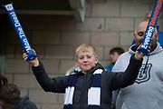 30th August 2019; Dens Park, Dundee, Scotland; Scottish Championship, Dundee Football Club versus Dundee United; Dundee fans