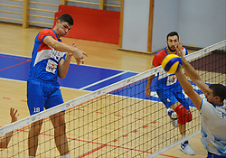 Podrascanin of Serbia during friendly volleyball match between National teams of Serbia and Slovenia, on August 18, 2017, in Belgrade, Serbia. Photo by Nebojsa Parausic / MN press / Sportida