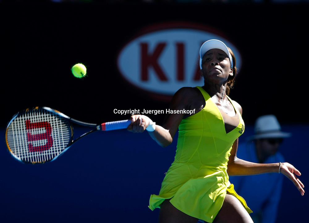Australien, Melbourne, Sport, Tennis, Grand Slam Tournament, Melbourne Park, Australian Open 2010,..Venus Williams (USA)..Foto: Juergen Hasenkopf..