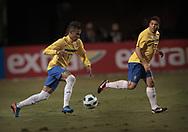 SAO PAULO, SP, BRASIL, 07/06/2011, 22h06:  Jogo da selecao brasileira de futebol contra a selecao da Romenia em Sao Paulo.  (Foto: Caio Guatelli)