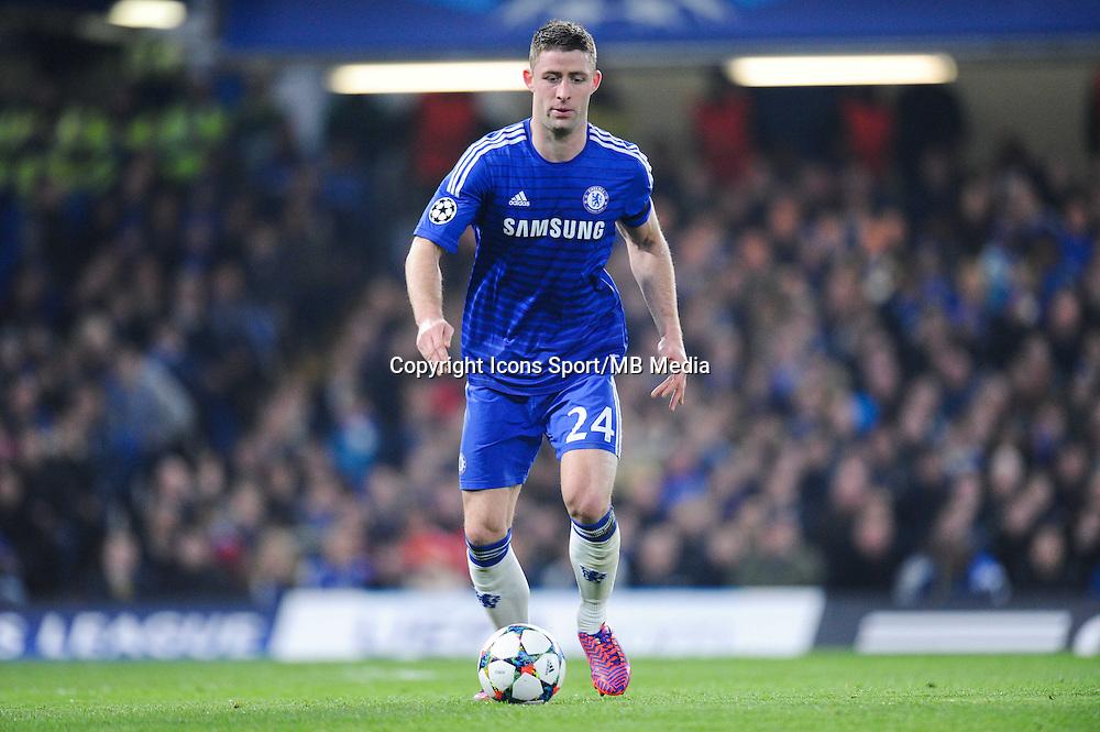 Gary CAHILL - 11.03.2015 - Chelsea / Paris Saint Germain - 1/8Finale Champions League<br />Photo : Johnny Fidelin / Icon Sport