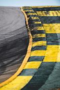 October 11-13, 2018: IMSA Weathertech Series, Petit Le Mans: Track curb detail